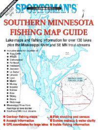 Southern Minnesota Fishing Map Guide: Lake Maps and Fishing Information for