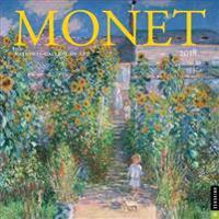 Monet 2018 Calendar