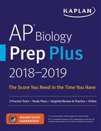 Kaplan AP Biology Prep Plus 2018-2019