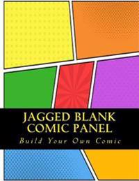 Jagged Comic Blank Panel