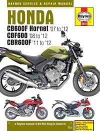 Honda cb600 hornet, cbf600 and cbr600f (07-12)