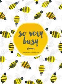 Busy Bee 2017-2018 Planner