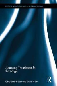 Adapting Translation for the Stage