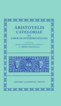 Aristotle Categoriae et Liber de Interpretatione