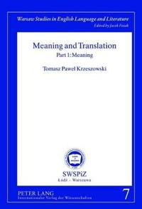Meaning and Translation
