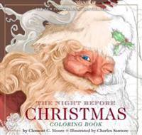The Night Before Christmas or, A Visit from St. Nicholas Coloring Book