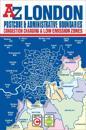 London Postcode & Administrative Boundaries Map