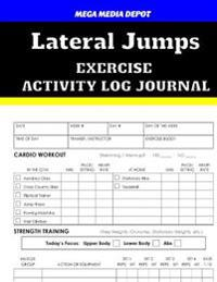 Lateral Jumps Exercise Activity Log Journal