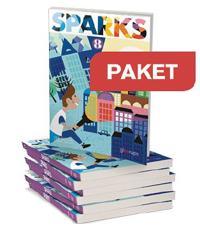 Sparks 8 Textbook 25 ex +Workbook 25 ex+ Lärarwebb