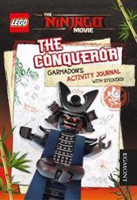 Lego (r) ninjago movie: the conqueror garmadons activity journal