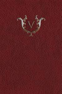 Monogram V Notebook
