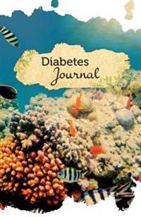 Diabetes Journal: 50 Pages, 5.5 X 8.5 Underwater Beauty