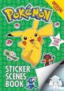 The Official Pokemon Sticker Scenes Book