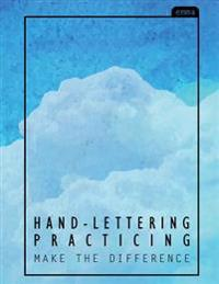 Hand-Lettering Practice: The Cozy Blue Sky Practicing Sheets (160 Pgs)