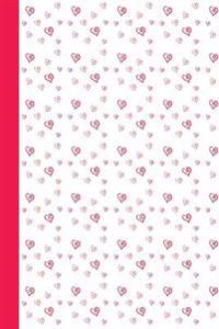 Journal: Calligraphy Hearts 6x9 - Dot Journal - Journal with Dotted Pages
