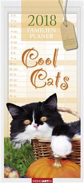 Familienplaner Cool Cats - Kalender 2018