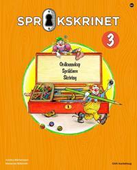 Språkskrinet 3; ordkunnskap, språklære, skriving - Annika Mårtensson, Marianne Billström pdf epub