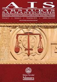 Ais (2016, Vol. 4, N. 2): Ars Iuris Salmanticensis