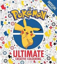 Official Pokemon Ultimate Creative Colouring