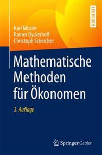 Mathematische Methoden Fur Okonomen