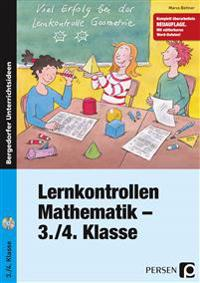 Lernkontrollen Mathematik - 3./4. Klasse