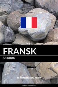 Fransk Ordbok: En Amnesbaserad Metod