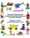 Deutsch-Rumänisch Zweisprachiges Bilderwörterbuch Der Farben Für Kinder