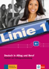 Linie 1 B1. Testheft mit Audio-CD
