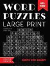 Word Puzzles Large Print: Word Play Twists and Challenges