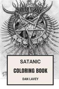 Satanic Coloring Book: Laveyan Inspired Satanic Bible Adult Coloring Book