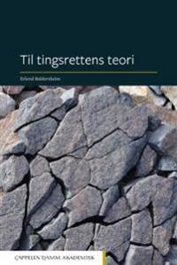 Til tingsrettens teori - Erlend Baldersheim | Inprintwriters.org