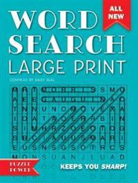 Word Search Large Print: Word Play Twists and Challenges