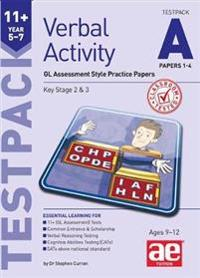 11+ verbal activity year 5-7 testpack a papers 1-4 - gl assessment style pr