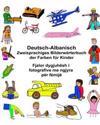Deutsch-Albanisch Zweisprachiges Bilderwörterbuch Der Farben Für Kinder