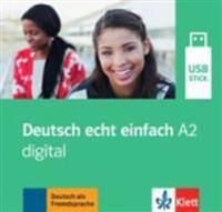Deutsch echt einfach A2 digital. (Ganz- und Teilbände) USB-Stick
