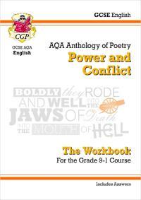 New GCSE English Literature AQA Poetry Workbook: PowerConflict Anthology (Includes Answers)