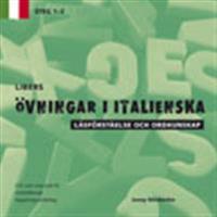 Libers övningar i italienska: Läsförståelse och ordkunskap, steg 1-2