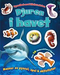 Djuren i havet– pysselbok med klistermärken