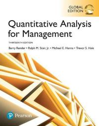 Quantitative Analysis for Management, Global Edition