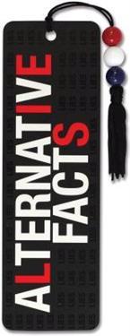 Alternative Facts Beaded Bookmark