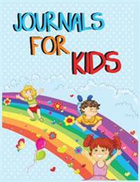 Journals for Kids: 8.5 X 11, 108 Lined Pages (Diary, Notebook, Journal, Workbook)