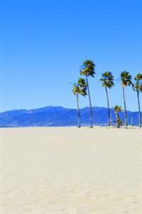 Journal: Palm Trees on Venice Beach, Professional Photograph, 6x9, 150 Lined Sheets