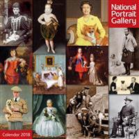 National Portrait Gallery - Royalty and Their Pets 2018 Calendar