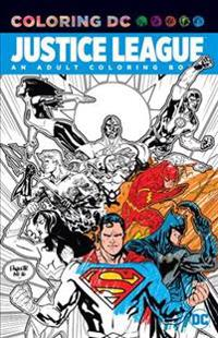 Justice League: An Adult Coloring Book