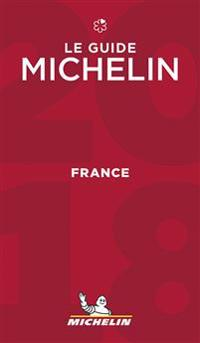 Michelin Red Guide 2018 France