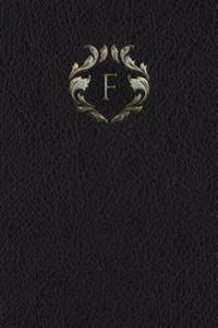 Monogram F Meeting Notebook