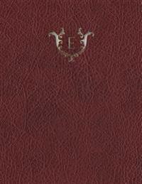 """Monogram """"E"""" Sketchbook"""