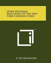 Upper Devonian Pelecypods of the New York Chemung Stage