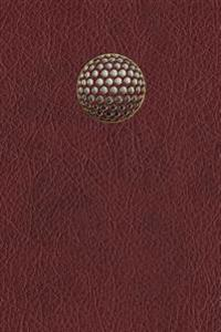 Monogram Golf Journal