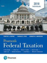 Pearson's Federal Taxation Individuals 2018